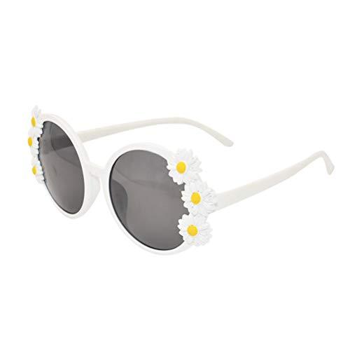 Amosfun Partybrille Hawaii Party Kostüm Sonnenbrille Gänseblümchen Blumen Dekoration Sonnenbrille Verkleidung Zubehör