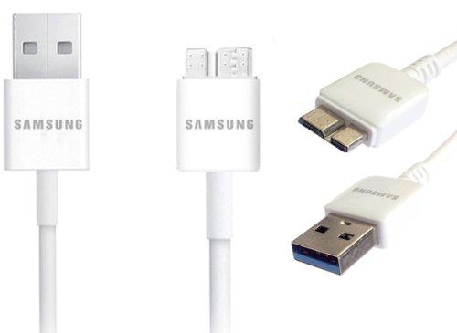 Samsung et-dq10y0ew USB 3.0Datenkabel für Galaxy S5/Galaxy Note 3-Weiß (Samsung Galaxy 3 Tmobile Handy)