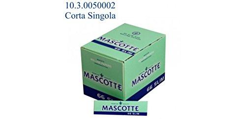 CARTINE MASCOTTE CORTE SINGOLA SLIM 66fg x50