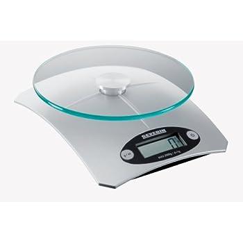 severin bilancia da cucina elettronica kw 3667, colore argento ... - Bilancia Da Cucina Elettronica