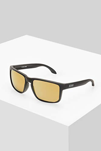 Ocean Sunglasses Sonnenbrille Hampton Z 800Unisex.Herren schlamm Damen