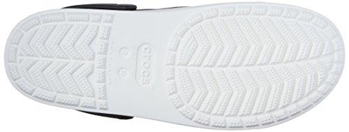 crocs Citilanecnvsclg, Zoccoli Unisex-Adulto Grigio (Graphite/White)