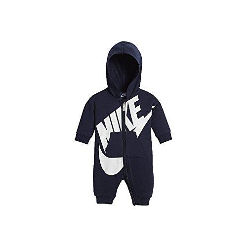 Nike Futura Overall Kleinkind Strampler (3-6 Monate, Obsidian (695)/White/Obsidian) Nike Kleinkind-mädchen-kleidung