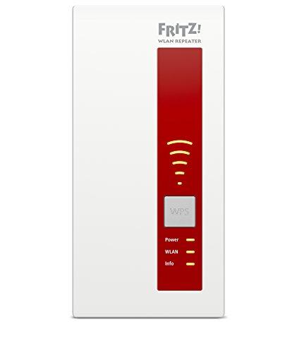 AVM FRITZ!WLAN Repeater 1160 (Dual-WLAN AC + N bis zu 866 MBit/s 5 GHz + 300 MBit/s 2,4 GHz), geeignet für Deutschland - 5