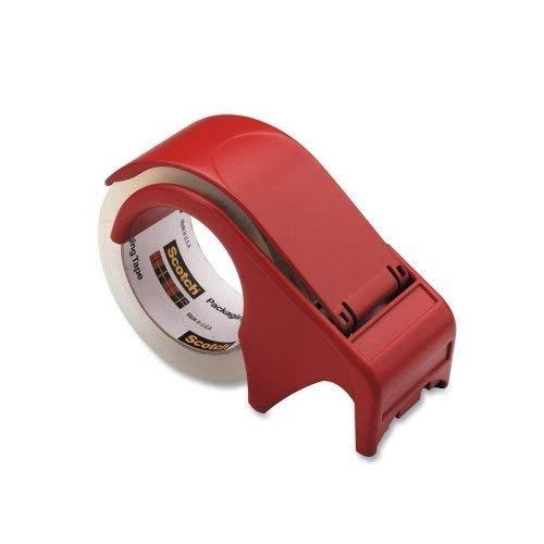 Großhandel von Fall von 15–3m Scotch Verpackung Klebeband Hand hält dispenser-handheld Tischabroller, 7,6cm Core/5,1cm breit und 60YDS, rot