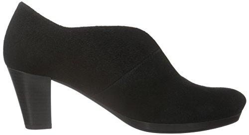 Gabor Shoes Comfort Fashion, Scarpe con Tacco Donna Nero (Schwarz Fu Rot)