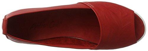 Andrea Conti 0023535, Mocassins Femme Rot (Rot)