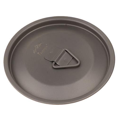 Sharplace Titanium Deckel für 80mm Becher Tasse Deckel Kaffeebecher Mug Trinkbecher Ersatz Deckel (Für Ersatz-deckel Tassen Die)