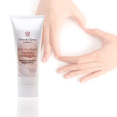 Crema mani propoli e olio di oliva - emolliente e lenitiva per mani secche e screpolate - 75 ml