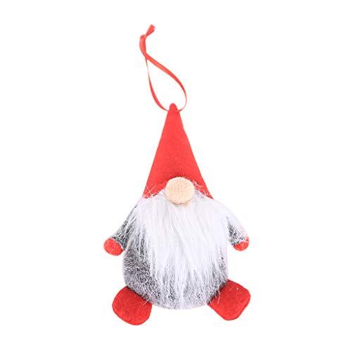 Muñeca Papá Noel sueca Navidad hecha mano ESden