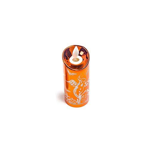 Wetour 6 Flammenlose Kerzen-Lichter LED Tee Kerzen, Bunt Elektrische Kerzen Lichter Mit Batterie Für Halloween, Weihnachten, Hochzeit, Party Deco