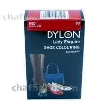 Dylon Shoe & Accessories Colour , Shoe Dye in Red