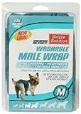 Einfache Lösung Hund Stecker waschbar Wrap Medium
