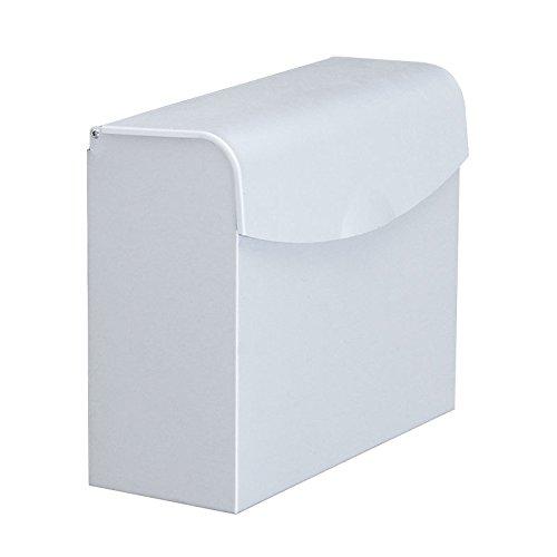 Sursy Platz frei Aluminium Tissue Box Toilettenpapier Storage Rack Papier Handtuchhalter WC-Papier, Papierrollen RackD