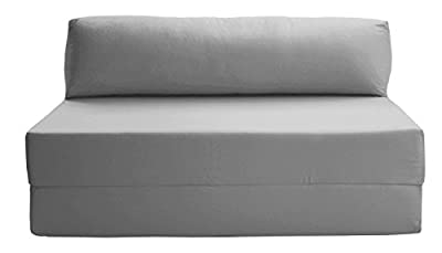 JAZZ SOFABED - GREY Deluxe Double Sofa Bed - cheap UK sofabed shop.