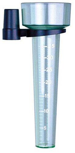Koch 93300 Pluviomètre avec Support, Vert, 24.2 x 8.7 x 8.7 cm