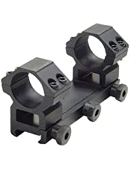 Leapers Weaver Style 1in. Compact Integral Medium Profile, See-Thru Mount, For Scopes RGWM2PA-25M4 by Leapers