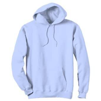 AWDis Hooded Sweatshirt - Sky Blue-XL