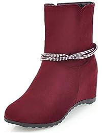 es 37 Zapatos Mujer Para Amazon Y Botas Adornos vFqx1FOwS