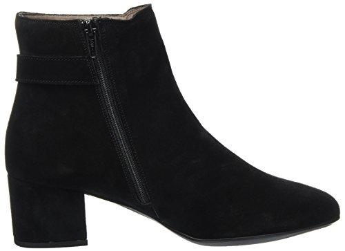 Stonefly Damen Lory Ii 3 Velour Chelsea Boots Schwarz (Nero/black)