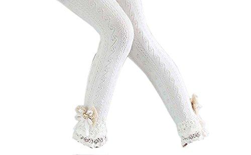ndy Mesh Cotton Lace Mädchen Strümpfe Mode Leggings Hosen für Frühjahr/Herbst, 04 ()