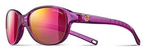 Julbo Romy Sonnenbrille Mädchen, Violett transparent glänzend