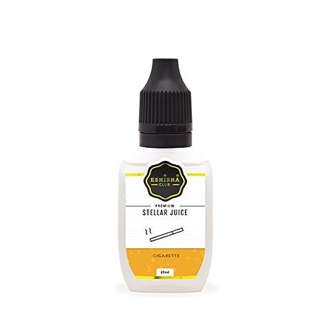KNUQO STELLAR Juice 25ml - Zigarette-Geschmack | e-Zigarette | e Shisha eLiquid Flasche | Wiederaufladbare Elektronische Zigarette Liquid | Nikotinfrei | e Shisha | eShisha Club