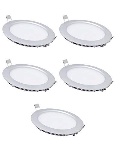 Downlight LED Extraplano Redondo Plano Foco Empotrable Led - 6000-6500K (Luz Fría),2800-3200K(Blanco...