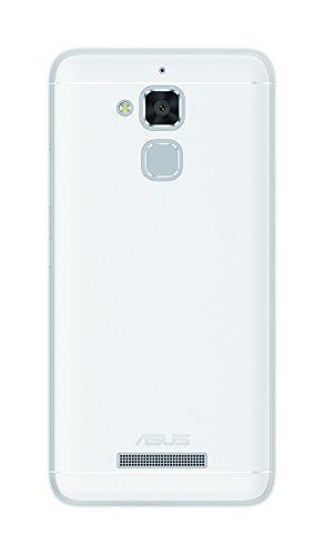 Phonix ASZ3MGPW Gel Protection Plus Schutzhülle mit Bildschirmschutzfolie fur Asus Zenfone 3 Max 5,2 Zoll ZC520TL weiß
