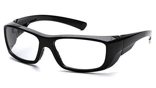 Pyramex Safety esb7910d20Emerge schwarz Rahmen mit Clear + 2.0Objektiv