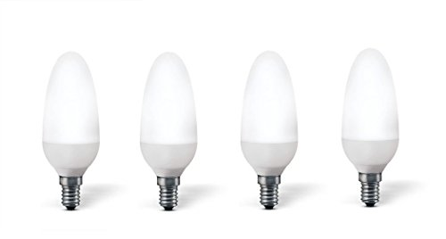 4x Energiesparlampe Osram DULUX STAR CLASSIC B E14 7W ersetzt 30W 2700 K Farbcode 827 ⌀ 42mm [Energieklasse B]