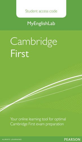 MyEnglishLab Cambridge First Standalone Student Access Card (Exam MELs)