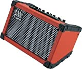 Roland Cube Street Battery Power Mobile Amplifier in Red Model CUBE-15X