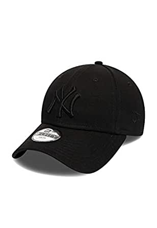 New Era Boys 940 All Black Snapback Kids Baseball Cap (Child (4-6 ... 9cdbe9b4d65b