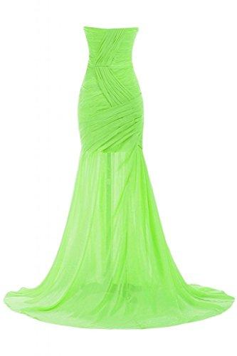Sunvary Chic Sweetheart collo, da donna, per abiti da sera, Pageant Gowns Party Dress Verde chiaro