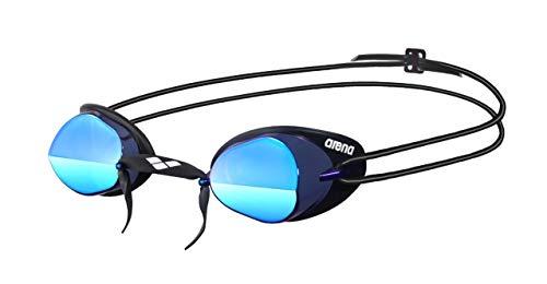 Arena Swedixirror Gafas de Natación, Unisex adulto, (Smoke/Azul / Blac), Única