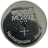 Maxell ML2032/ML 2032 rechargeable