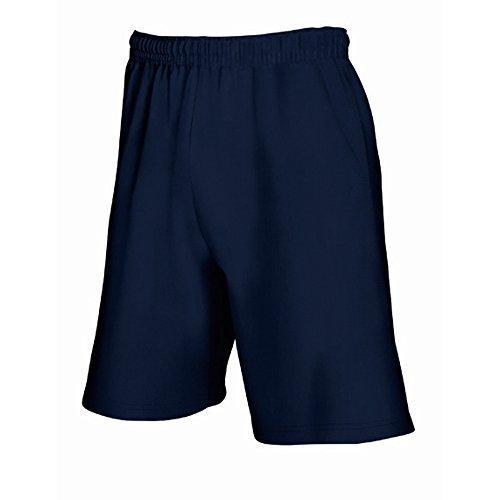 Fruit Of The Loom Herren Jogging-Shorts / Shorts, leicht M,Navy