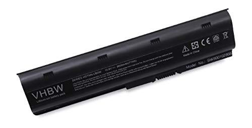 vhbw Li-ION Batterie 6600mAh (10.8V) pour Ordinateur Portable, Notebook HP/CompaQ Presario CQ56-100SG, CQ56-100XX, CQ56-101SA comme 586006-321