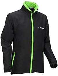 Kawasaki Sports Sudadera con capucha de mujer, Negro de color verde, tamaño M – 166spm0174 Moto de jank chiste