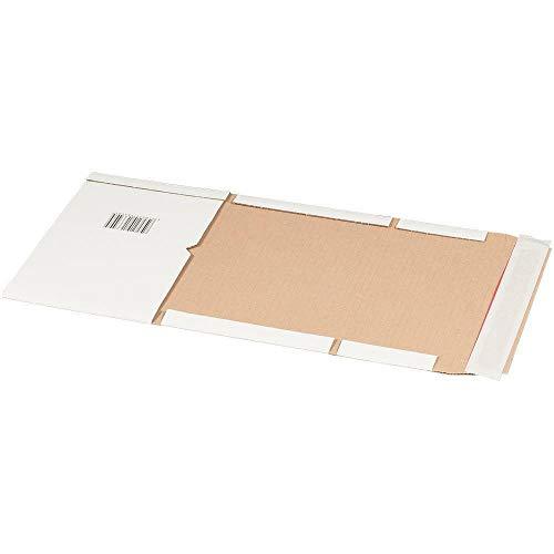 Weiß A4 Multimediaverpackung Buchverpackung 25 Stück ()