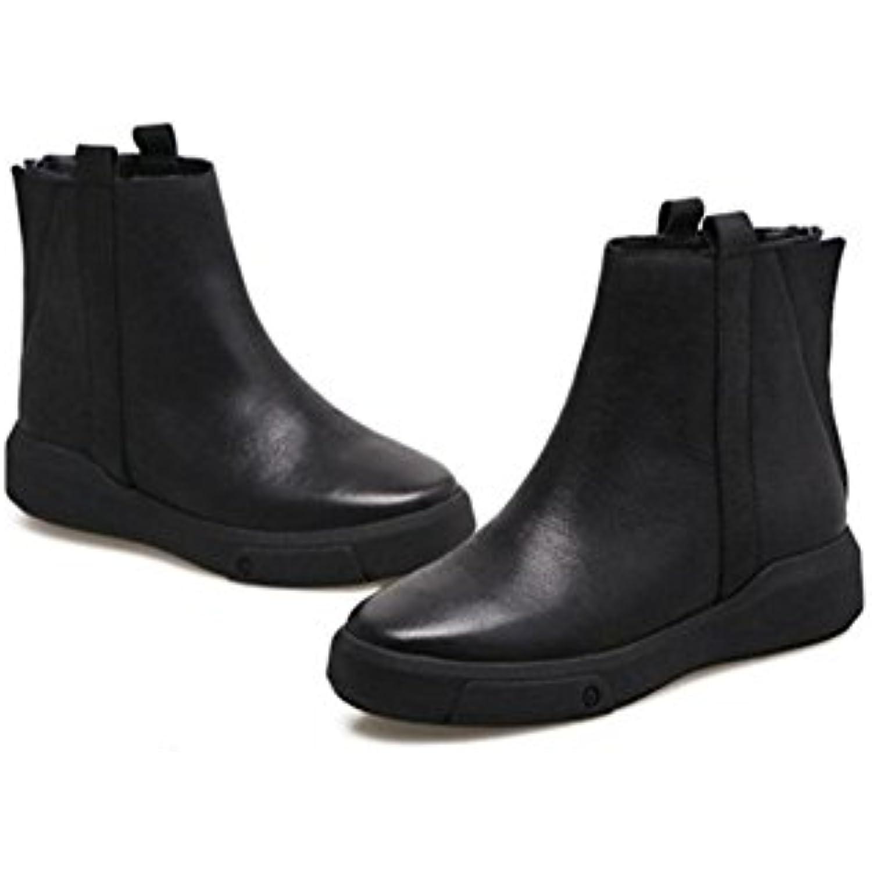 Chaussons décontractés pour femmes Vent Vent Vent rétro à fond plat Chaussures d'hiver chaudes et décontractées - B078GPQ6GN - 01bcef