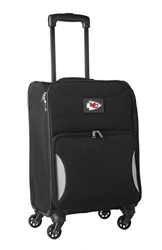 nfl-kansas-city-chiefs-lightweight-nimble-upright-carry-on-trolley-18-inch-black-by-nfl