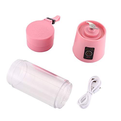 Ballylelly-380ml USB Elektrische Fruchtpresse Hand Smoothie Maker Mixer Saft Tasse (Smoothie Hand Blender)