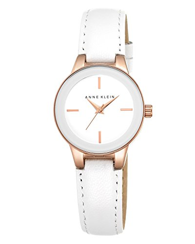 anne-klein-womens-opaline-quartz-watch-with-white-dial-analogue-display-and-white-leather-strap-ak-n