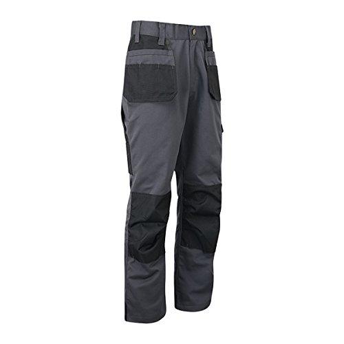 Cargo Combat TUFF STUFF TRAVAIL Pantalon robuste genou Pad Pantalon Heavy Duty 711 BK