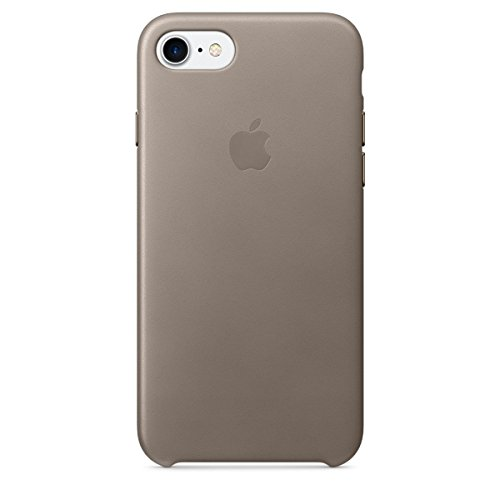Apple Leather Case for iPhone 7 - Taupe