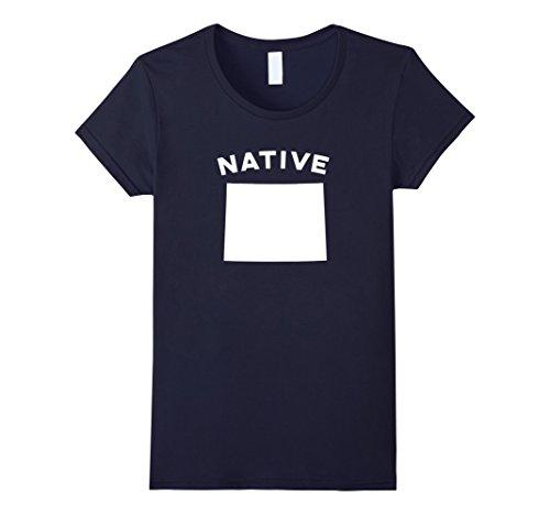 wyoming-native-home-t-shirt-damen-grosse-m-navy