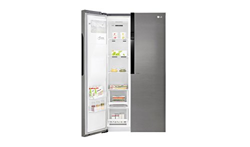 Side By Side Kühlschrank Crushed Ice : Lg electronics gsl 361 icez: side by side mit wassertank und crushed