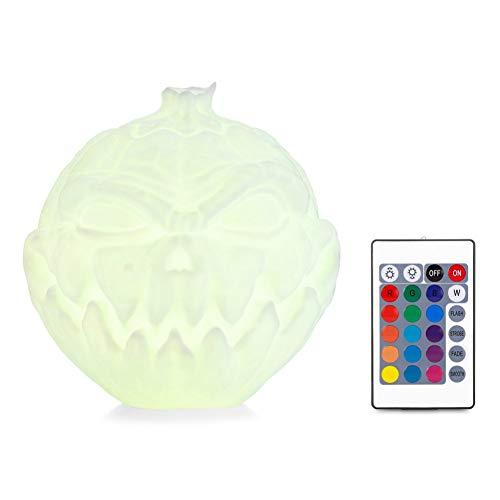 ween kürbis lampe 3d drucken led nachtlicht tischlicht gesicht form kürbis licht halloween party home decoration ()